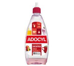 Adoçante Líquido Sacarina Adocyl Caixa12x200ml