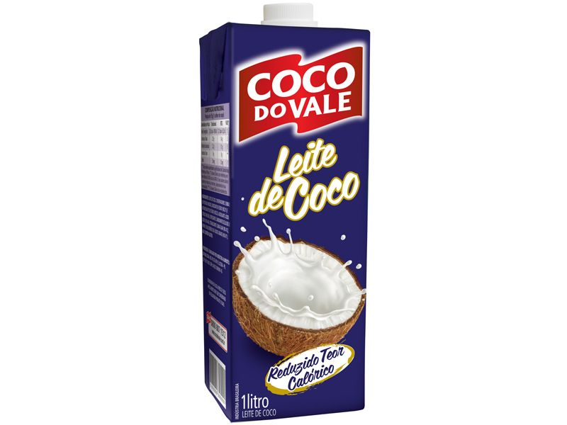 LEITE DE COCO RTG DO VALE 1L
