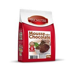 Mistura Mousse Cchocolate Tecnutri 500g