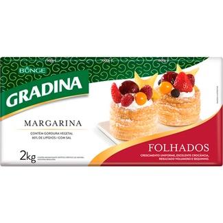 MARGARINA FOLHADAS GRADINA 2KG
