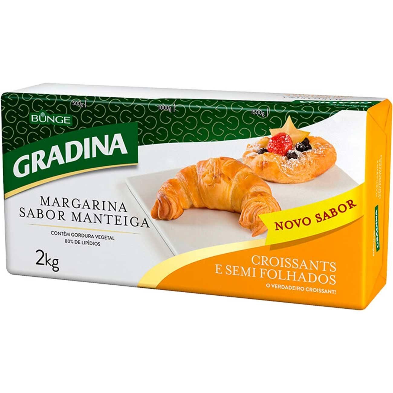 MARGARINA CROISSANT GRADINA 2KG